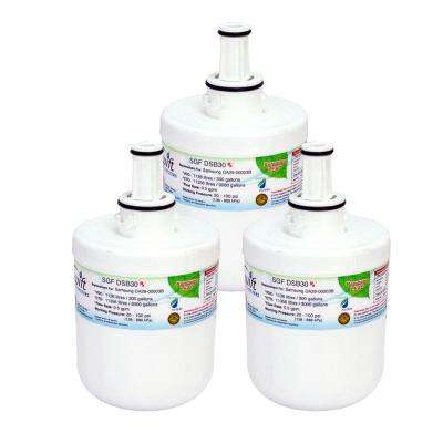 SGF-DSB30 Rx Replacement Water Filter for Samsung DA29-00003B (3-Pack)