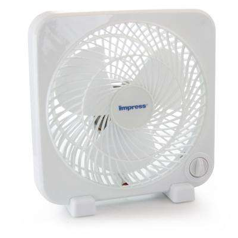 9 in. White Box Fan