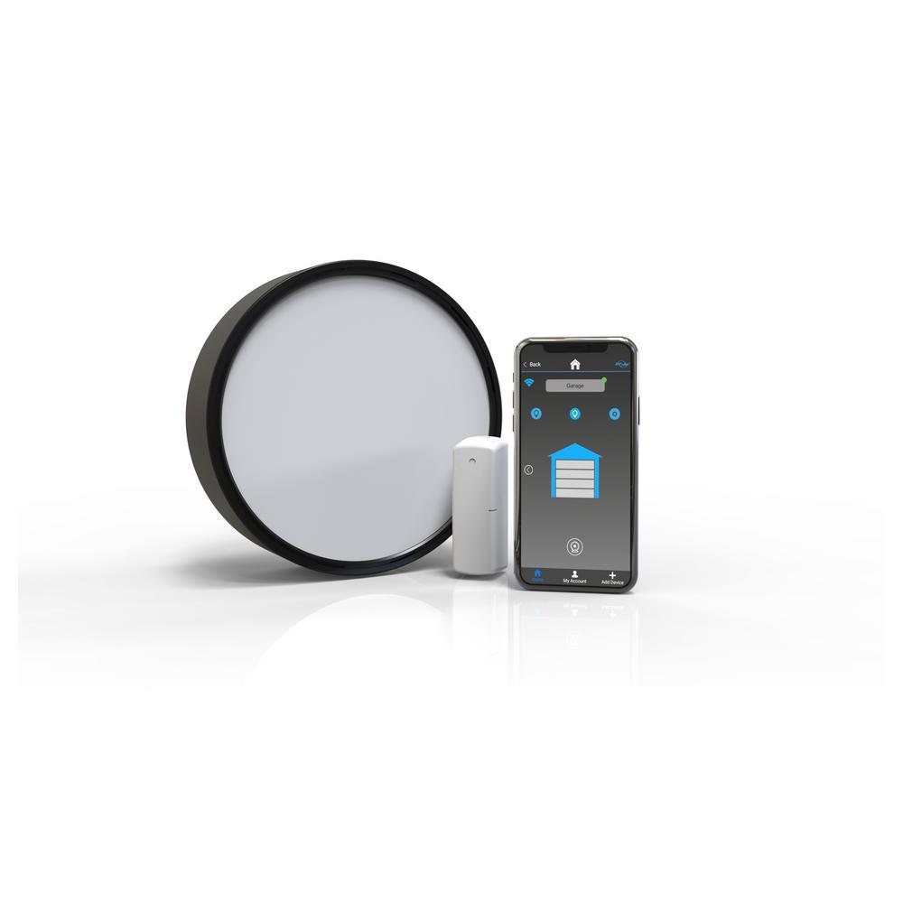 NOVA Smart Universal Garage Door Wi-Fi Kit with Smartphone Control Works with Alexa Google Assistant IFTTT