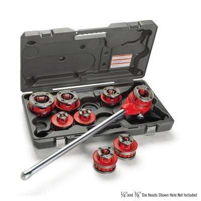 1/2 in. to 2 in. NPSM 12-R Exposed Ratchet Threader Set