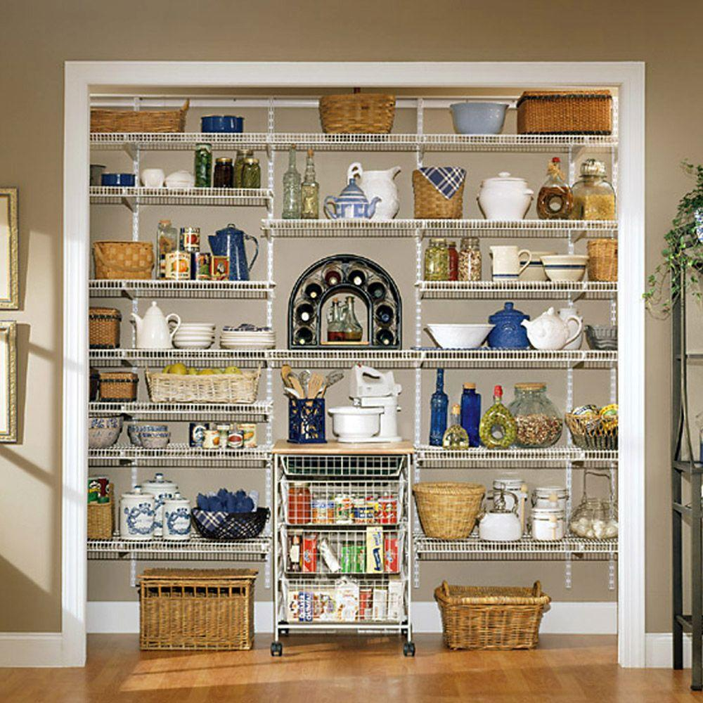 X 20 In D Ventilated Pantry Shelf