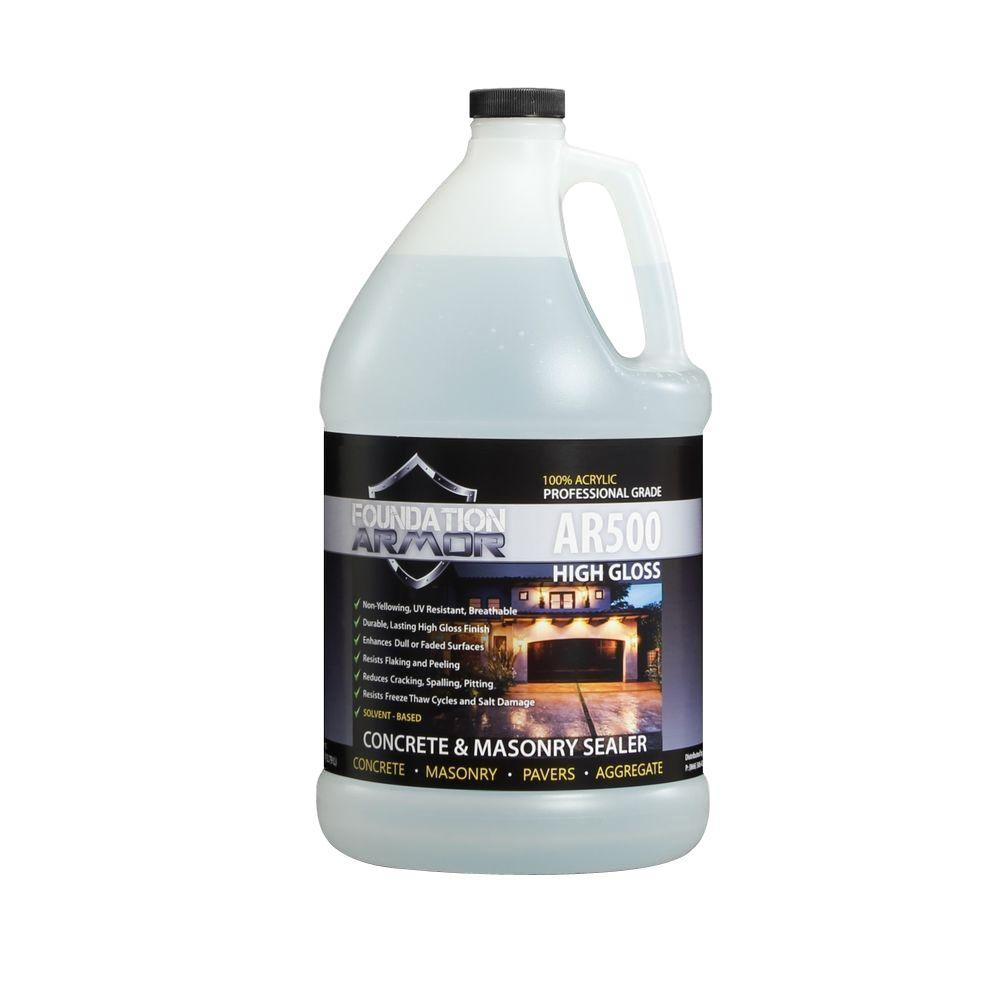 Foundation Armor Ultra Low VOC 1 Gal. Clear Wet Look High