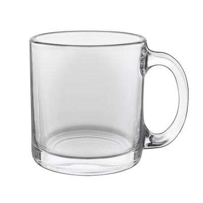 Robusta 13 oz. Clear Glass Coffee Mug (Set of 8)