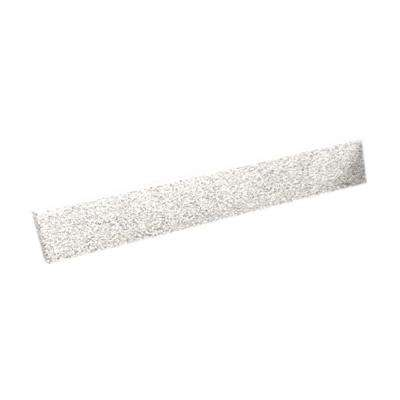 19 in. Solid Surface Sidesplash in Baby's Breath