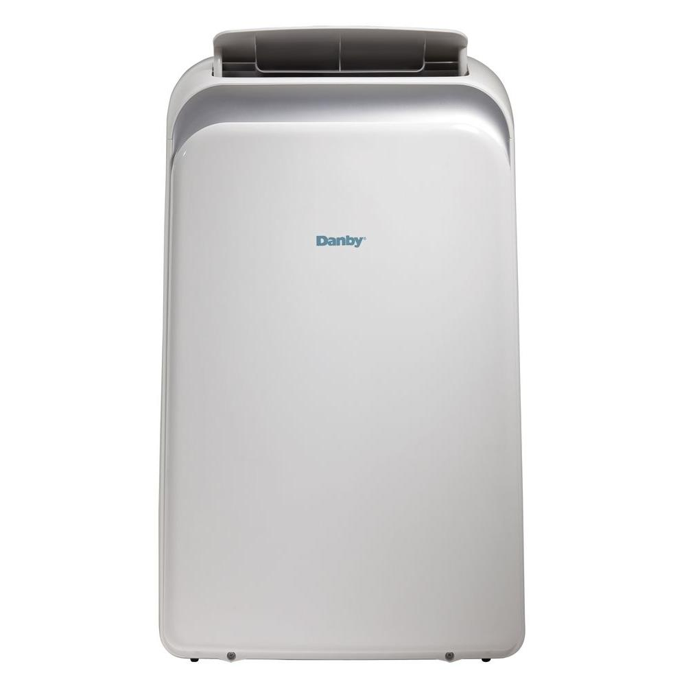 Danby 12,000 BTU Portable Air Conditioner with Heat, Dehumidifier, and Remote