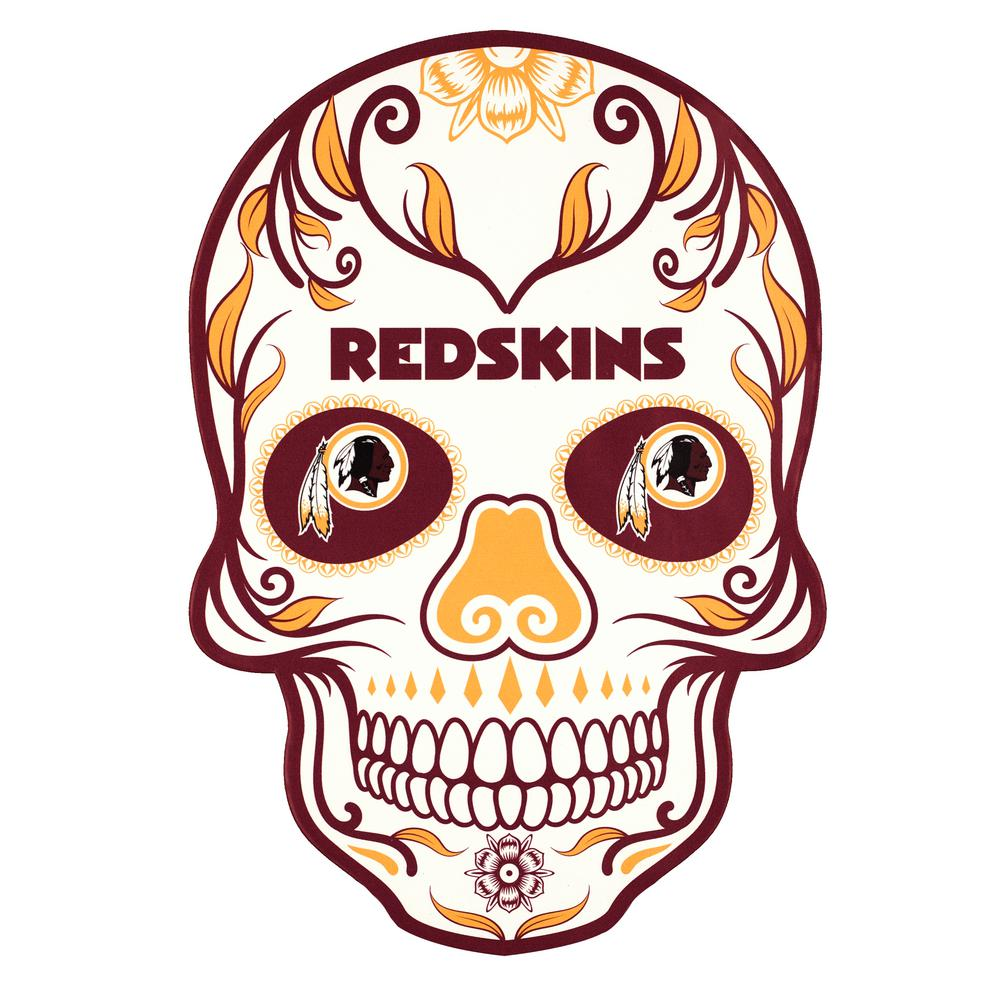 bd3c4820c4e Applied Icon NFL Washington Redskins Outdoor Skull Graphic- Small ...