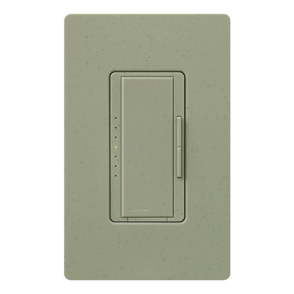 Lutron Maestro 600-Watt Multi-Location Digital Dimmer - Greenbriar