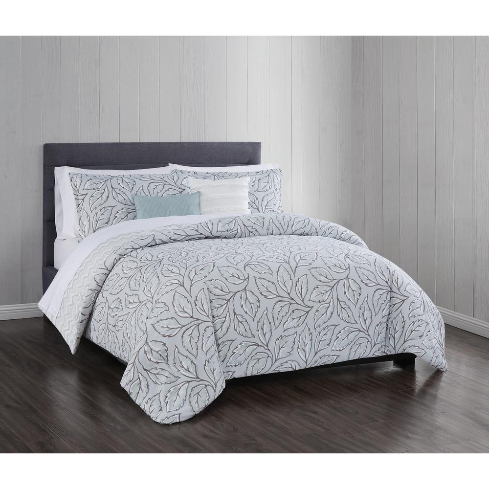 Mabel 5 Piece Full/Queen Comforter Set