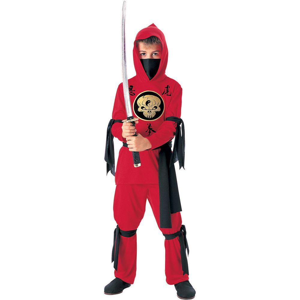rubie's costumes red ninja child costume-r881039_s - the home depot