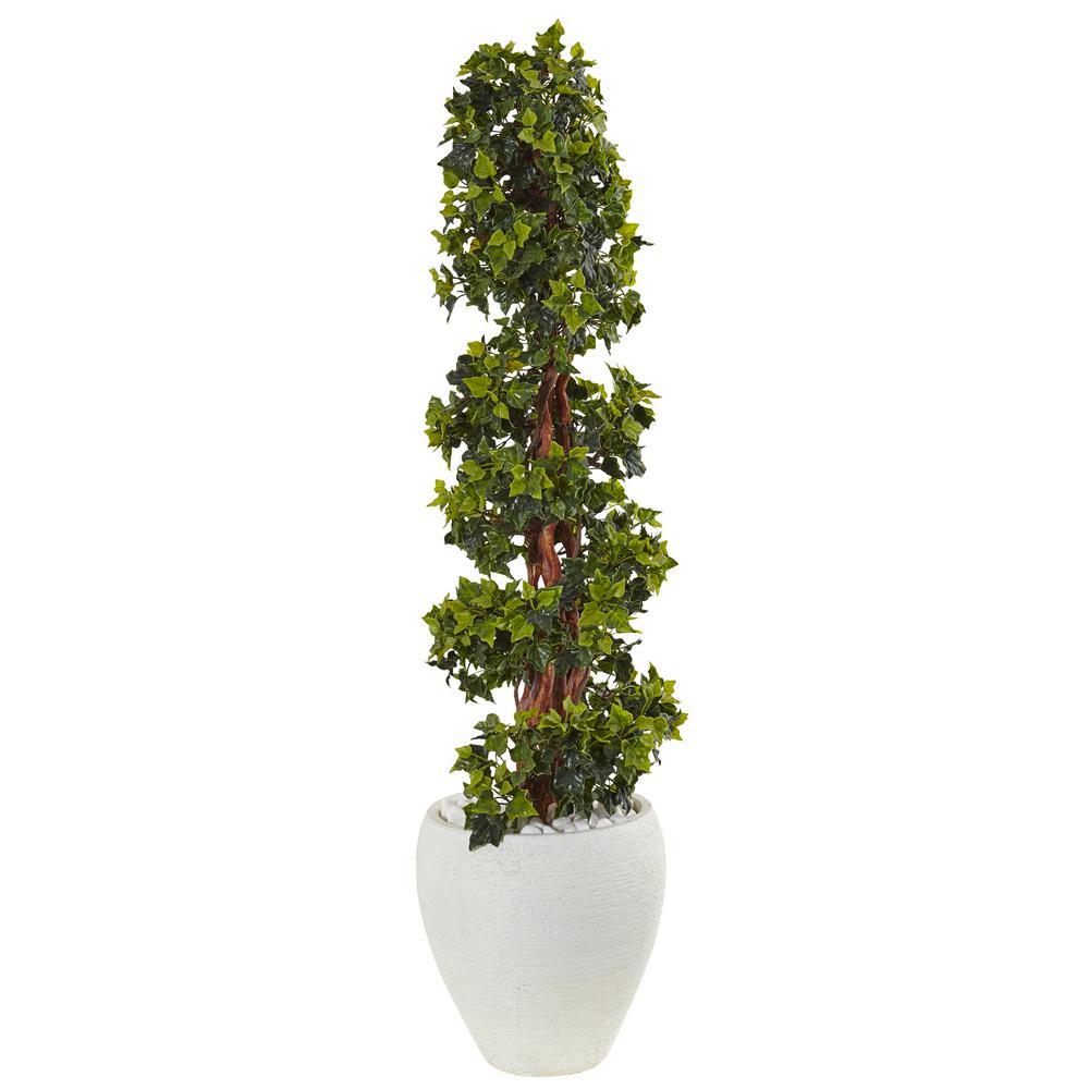 romano 5 ft hedyotis triple ball topiary tree 50 10007 r. Black Bedroom Furniture Sets. Home Design Ideas