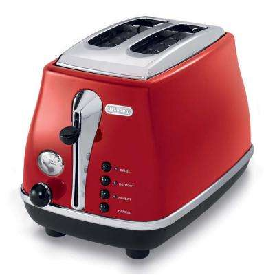 Icona 2-Slice Red Toaster