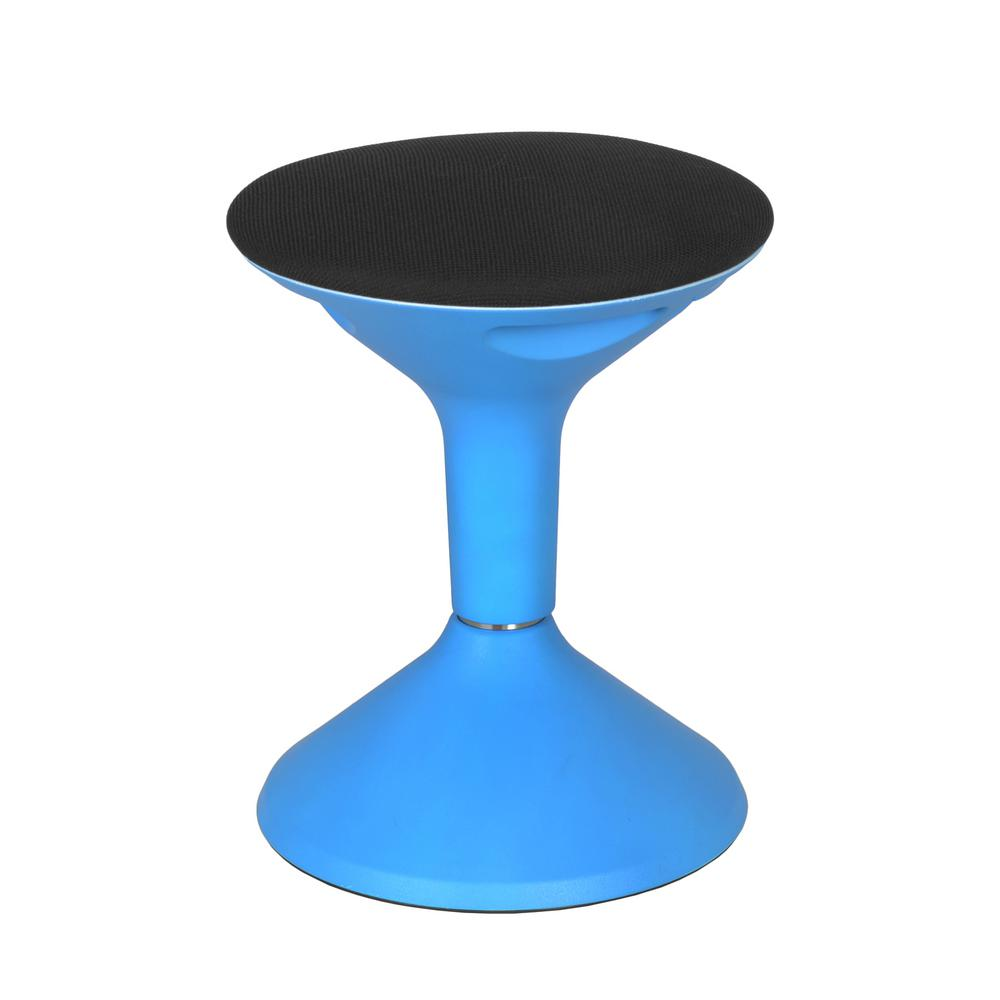 Regency Seating Grow Blue Height Adjustable Wobble Stool