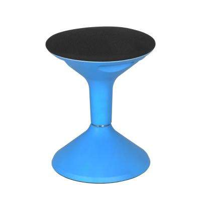 Grow Blue Height Adjustable Wobble Stool