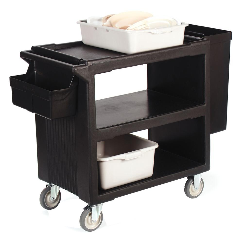 Go Home Black Industrial Kitchen Cart At Lowes Com: Carlisle Holder For Small Parts, Black-SBC11SH03