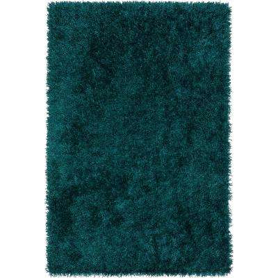 Decadent 1 Teal 9 ft. X 13 ft. Area Rug