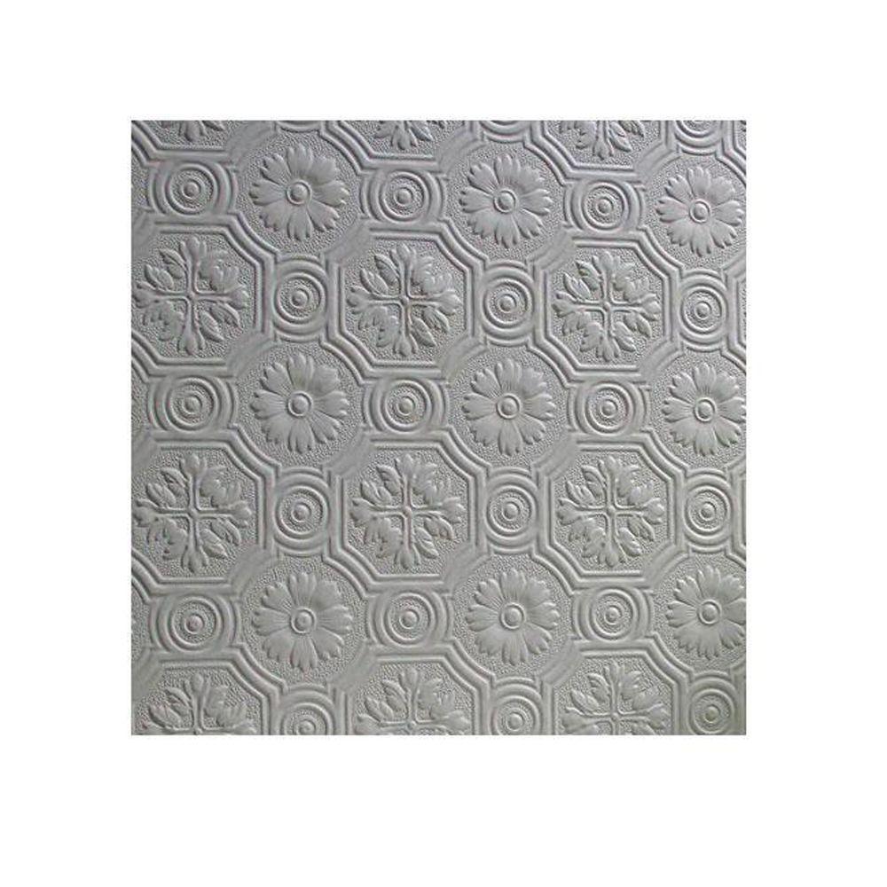 56.4 sq. ft. Spencer Paintable Supaglypta Wallpaper