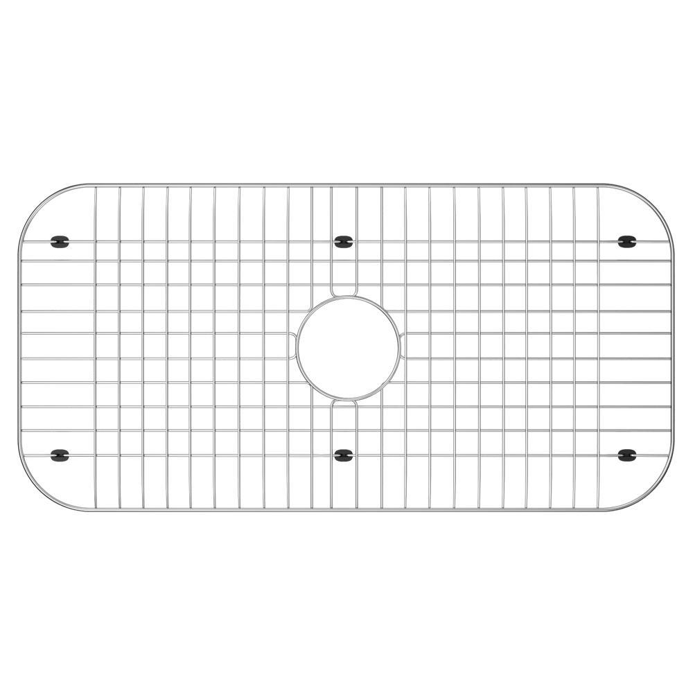 14 in. x 27.75 in. Sink Bottom Grid for Kohler in Stainless Steel