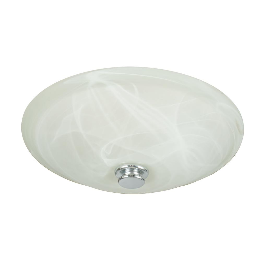 Boswell 70 CFM Decorative Bathroom Exhaust Fan with Light