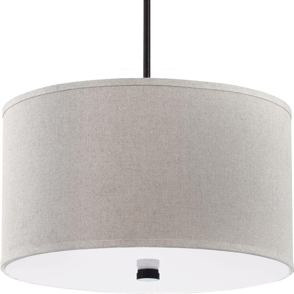 Sea Gull Lighting Dayna Shade 3 Light Burnt Sienna Pendant