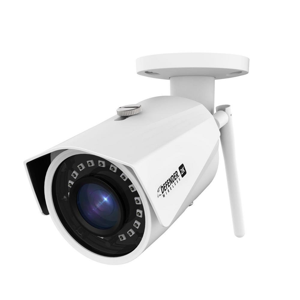 2K (4MP) Wireless Wide-Angle Night Vision Wi-Fi Surveillance Camera