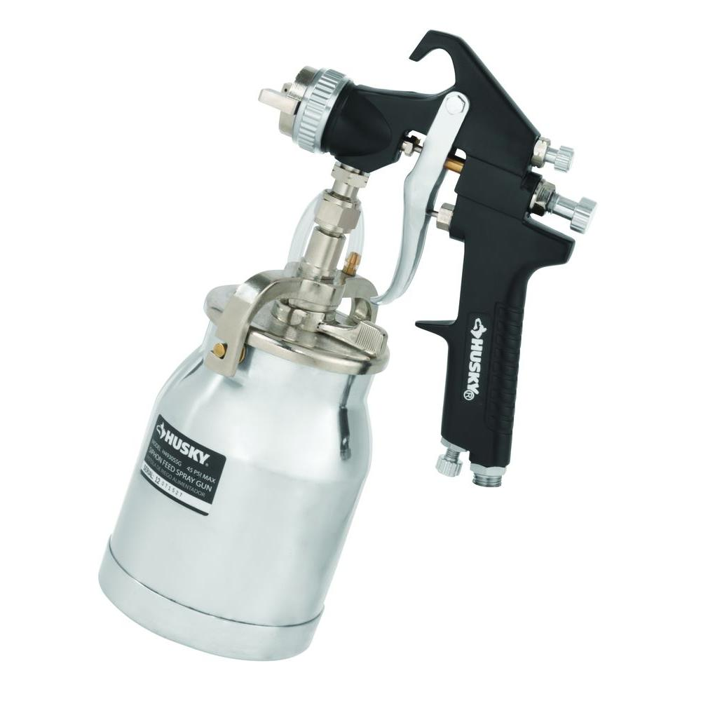 Husky Siphon Feed Spray Gun H4930ssg The Home Depot