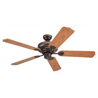 Long Beach 52 in. Bronze Outdoor Ceiling Fan