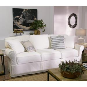 Synergy Home Furnishings Clic Slipcover Sofa And Loveseat