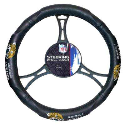 Jaguars Car Steering Wheel Cover
