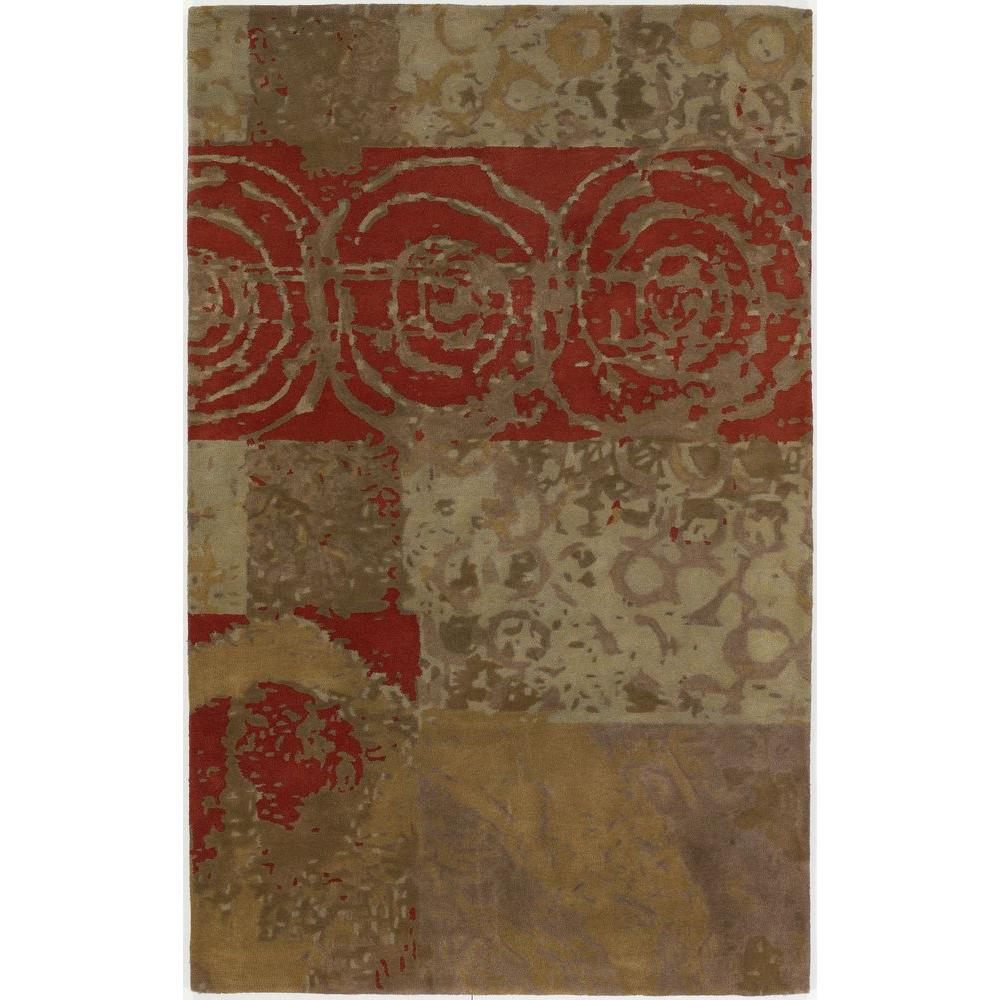 Chandra Nirvana Multi 7 ft. 9 in. x 10 ft. 6 in. Indoor Area Rug
