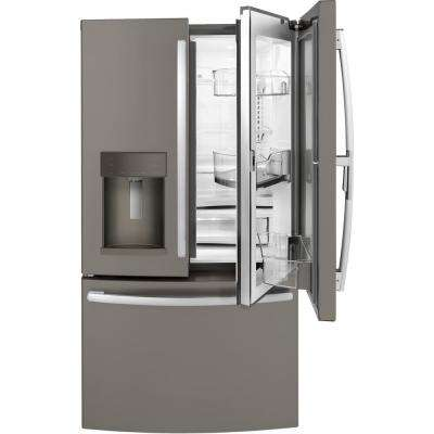 27.8 cu. ft. French Door Refrigerator with Door In Door in Slate