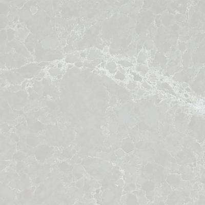 10 in. x 5 in. Quartz Countertop Sample in Alpine Mist with Polished Finish