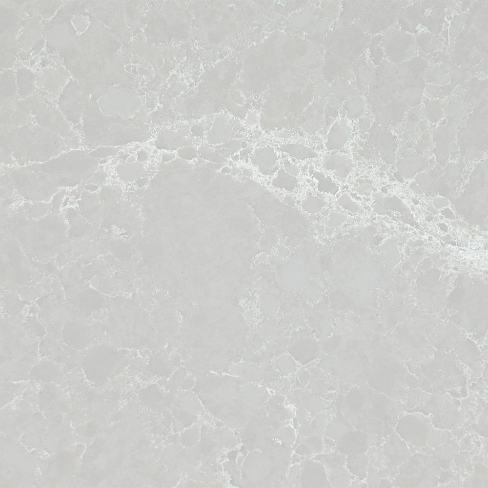 Stonemark 10 in  x 5 in  Quartz Countertop Sample in Airy