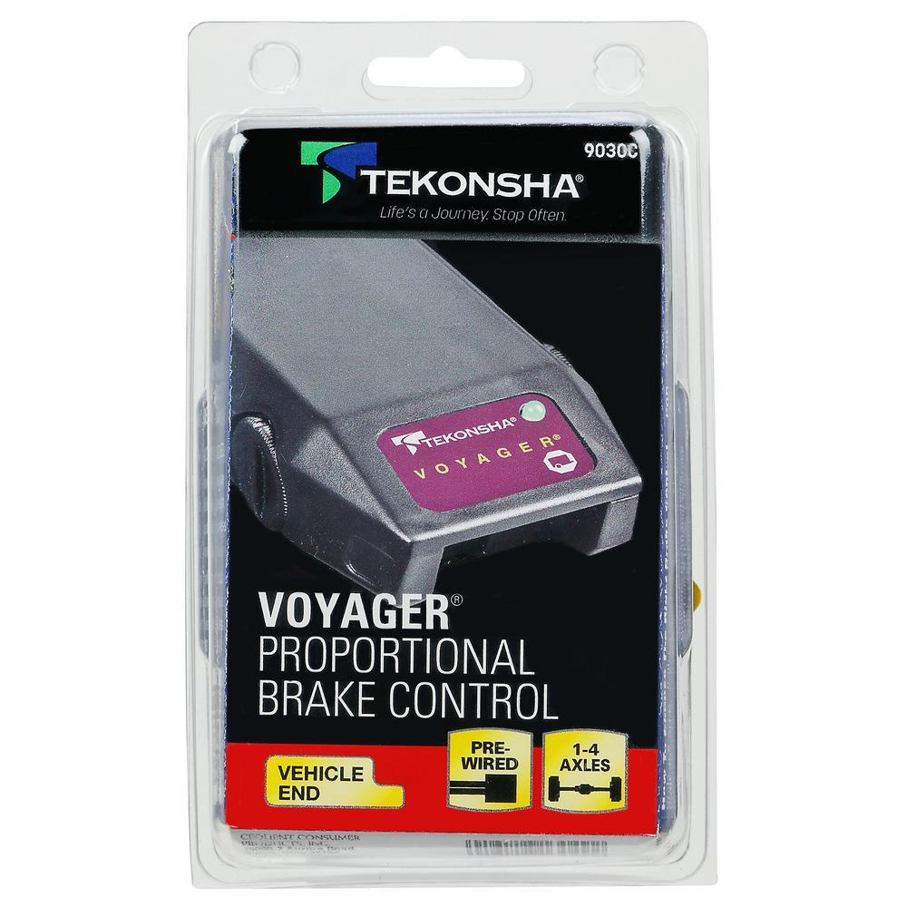 Tekonsha Brake Controller >> Tekonsha 4 Axle Voyager Brake Controller