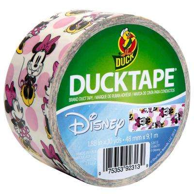 1.88 in. x 10 yds. Minnie Mouse Duct Tape (6-Pack)