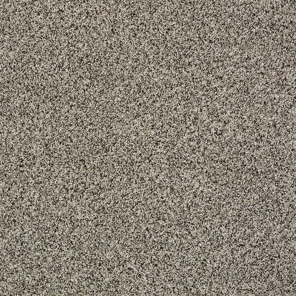 Carpet Sample - Bonanza II - Color Fudge Ripple Twist 8 in. x 8 in.