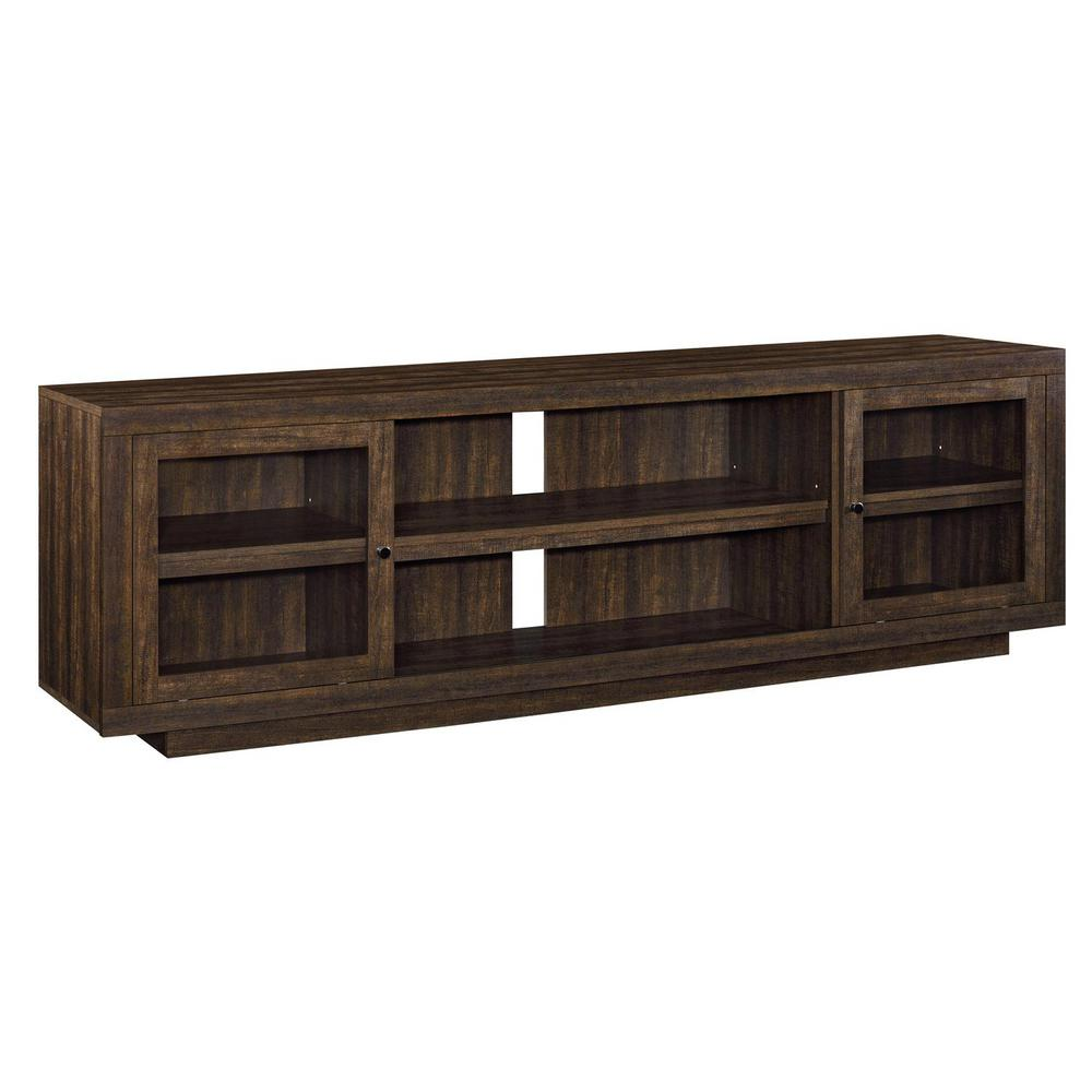 Ameriwood Young Lane 72 In Espresso Tv Stand Hd79217 The Home Depot