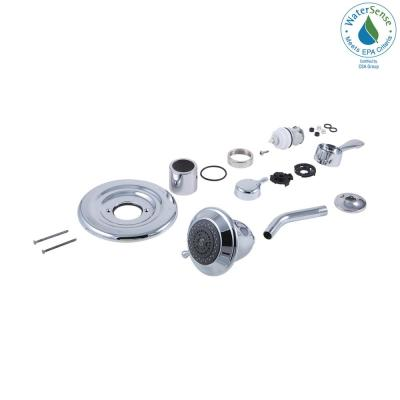 7 in. Shower Conversion Kit in Chrome