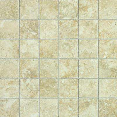 Heathland Sunrise 12 in. x 24 in. x 6.35 mm Glazed Ceramic Mosaic Floor and Wall Tile
