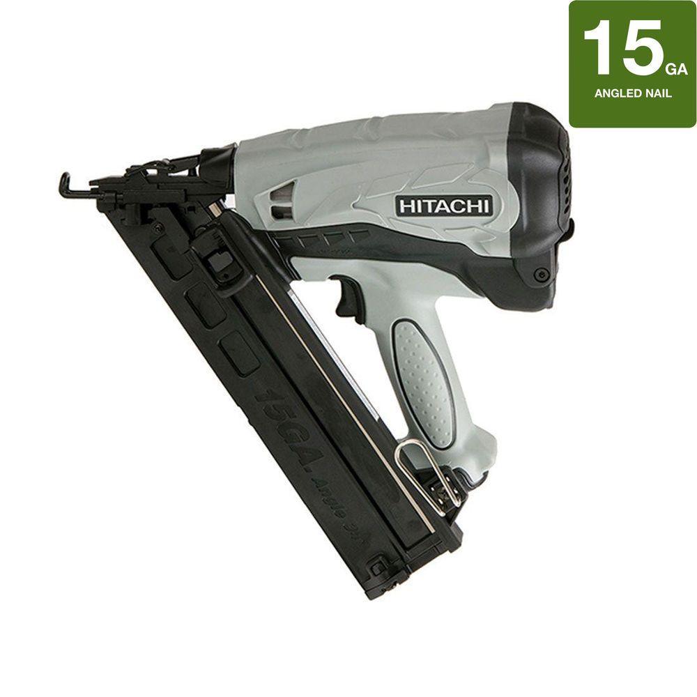 Hitachi 2-1/2 in.15-Gauge Cordless Nailer