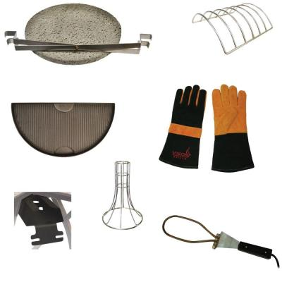 Kamado Grill Accessory Pack (8-Piece)