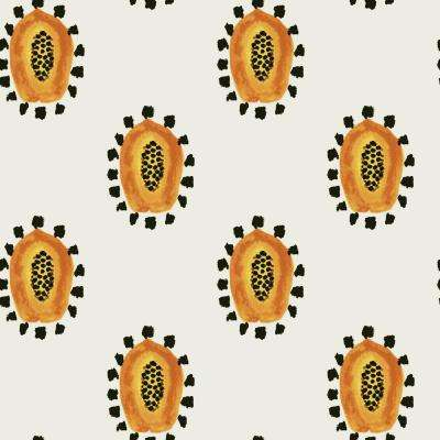 Genevieve Gorder Maya's Papayas Self-Adhesive, Removable Wallpaper