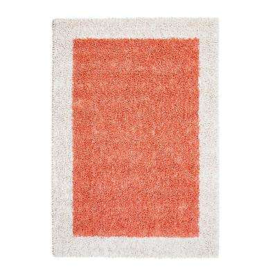 Strawberry Fields Pink 8 ft. x 10 ft. Area Rug