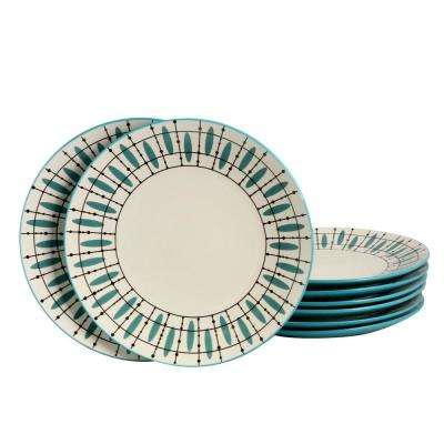 Luminescent Teal Dinner Plate (Set of 8)