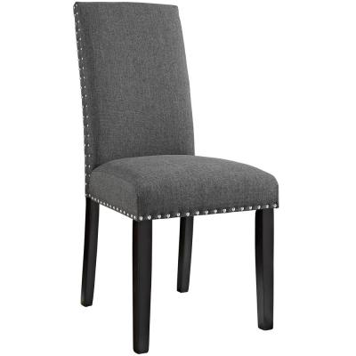Parcel Gray Dining Fabric Side Chair