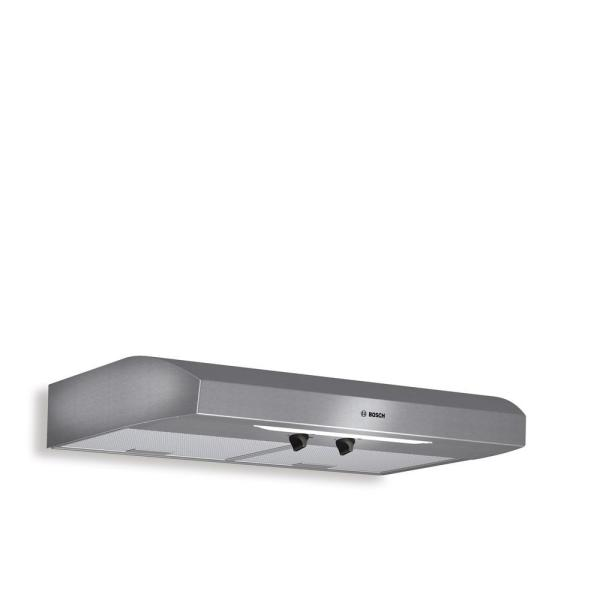 300 Series 30 in. Undercabinet Range Hood with Lights in Stainless Steel