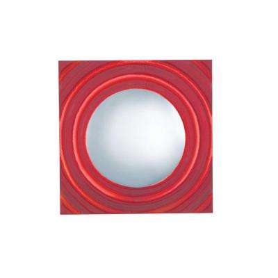 1-Light Low-Voltage Red Companion Art Deco Wall Sconce