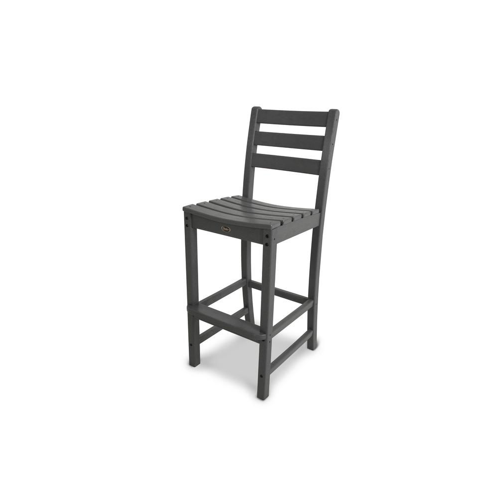 Trex Outdoor Furniture Monterey Bay Stepping Stone Patio Bar Side Chair