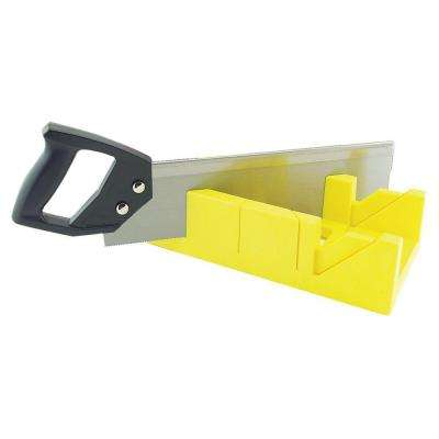 14 in. Miter Box and Saw Set