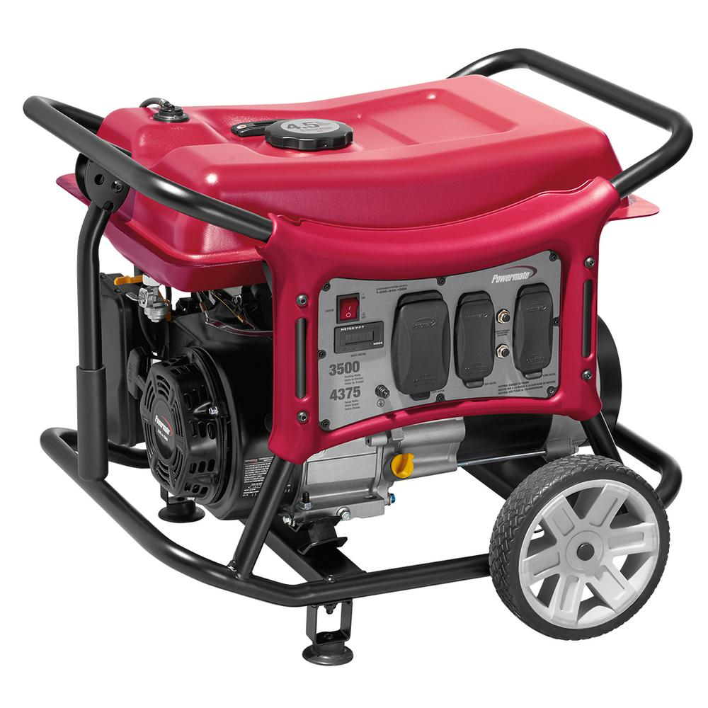 CX Series 3500-Watt Gasoline Portable Generator, Recoil Start, CARB  compliant