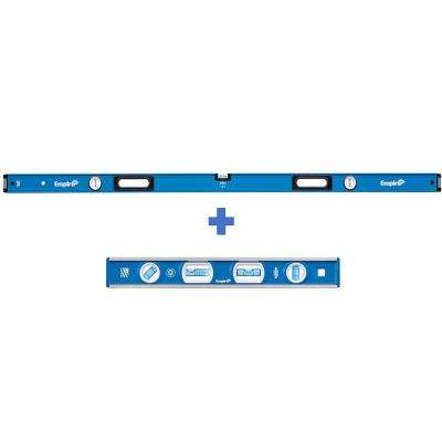 72 in. Box Level with 12 in. Magnetic Level